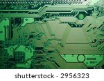 close up of computer board | Shutterstock . vector #2956323