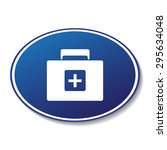 medicine chest vector icon