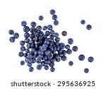 fresh juicy blueberries.  rich... | Shutterstock . vector #295636925
