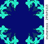 circular seamless  pattern of... | Shutterstock . vector #295691315
