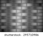 metal background or texture of... | Shutterstock . vector #295710986