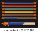 colorful progress bar vector...