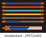 colorful progress bar vector...