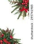 Christmas Flora Background...