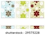 set of vertical retro banners... | Shutterstock .eps vector #29575228