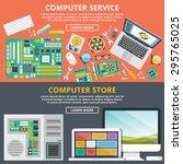 computer service  computer... | Shutterstock .eps vector #295765025