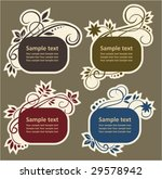 design elements | Shutterstock .eps vector #29578942