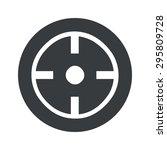image of target in black circle ...