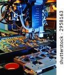 circuit board machine | Shutterstock . vector #2958163