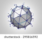abstract 3d rendering of low... | Shutterstock . vector #295816592