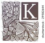 capital letter k