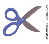 scissors   Shutterstock .eps vector #295827698