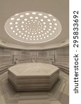 interior of turkish bath hammam | Shutterstock . vector #295833692