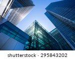 office building in london ... | Shutterstock . vector #295843202