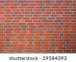 new clear brick wall - stock photo