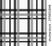 textured plaid  seamless vector ... | Shutterstock .eps vector #295851848
