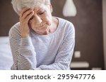 morning migraine is my biggest... | Shutterstock . vector #295947776