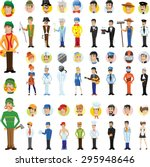 cartoon vector characters of... | Shutterstock .eps vector #295948646
