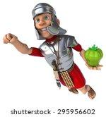 roman soldier | Shutterstock . vector #295956602