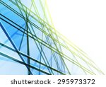 abstract building from the... | Shutterstock . vector #295973372