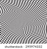 abstract dots optical art op...