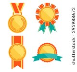 golden premium quality best... | Shutterstock .eps vector #295988672