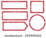 grunge frames | Shutterstock .eps vector #295990502
