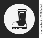 rain boots icon   Shutterstock .eps vector #296026862