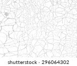 vintage cracked background.... | Shutterstock . vector #296064302