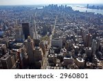 new york city  view of lower... | Shutterstock . vector #2960801