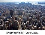 new york city  view of lower... | Shutterstock . vector #2960801