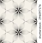 vector seamless pattern. floral ... | Shutterstock .eps vector #296097176