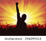 banner for sports championship... | Shutterstock .eps vector #296099315