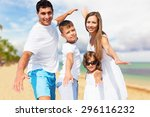 beach  fun  holidays. | Shutterstock . vector #296116232