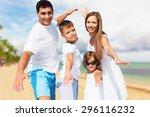 beach  fun  holidays.   Shutterstock . vector #296116232