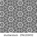 vector seamless pattern with... | Shutterstock .eps vector #296133452