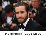 jake gyllenhaal  attends the... | Shutterstock . vector #296142602