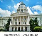 california state capitol... | Shutterstock . vector #296148812