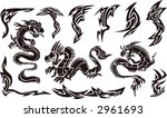 vector illustration of iconic... | Shutterstock .eps vector #2961693