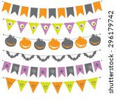 Halloween Banner  Bunting Or...