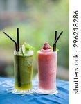 fruit juice | Shutterstock . vector #296218286