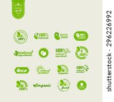 set of elements for design  ... | Shutterstock .eps vector #296226992