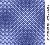 seamless pattern  blue tiles ...   Shutterstock .eps vector #296263262