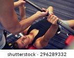 sport  fitness  teamwork ... | Shutterstock . vector #296289332