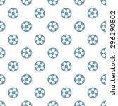 football or soccer seamless...   Shutterstock .eps vector #296290802