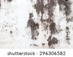 old painted wall damage surface | Shutterstock . vector #296306582