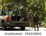 chiapas  mexico  25 march  2015.... | Shutterstock . vector #296310842