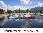 aix les bain   savoie... | Shutterstock . vector #296347028