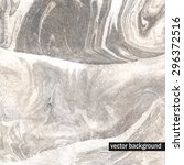 grayscale watercolor background.... | Shutterstock .eps vector #296372516