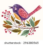 Hand Painted Vector Adorable...